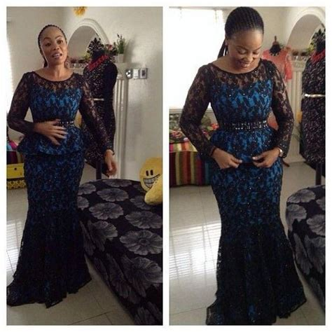nigerian aso ebi dress style and designs beautiful aso ebi lace skirt and blouse design