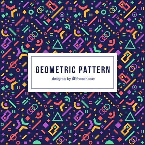 modern pattern ai modern geometric pattern with futuristic shapes vector