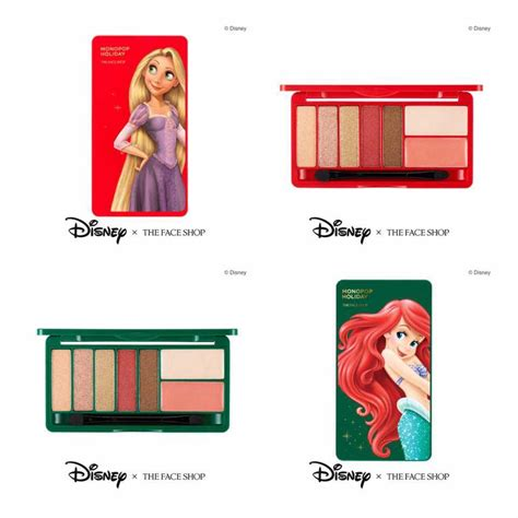 Faceshop X Disney Mono Pop featured series the shop x disney princesses