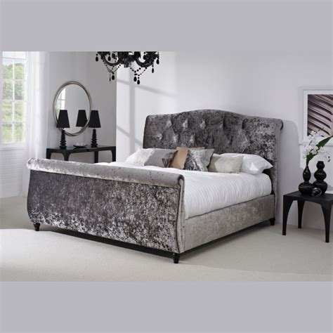 grey velvet bed why velvet is a great option for your upholstery ideas 4