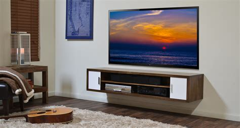 tv wall shelves wood furniture solid wood tv stand and media shelf the most