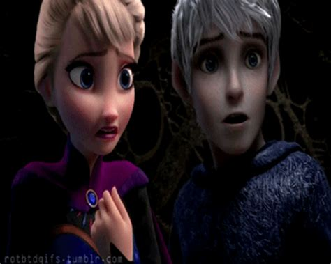 imagenes que se mueven de jack frost jack and elsa via tumblr animated gif 3646492 by