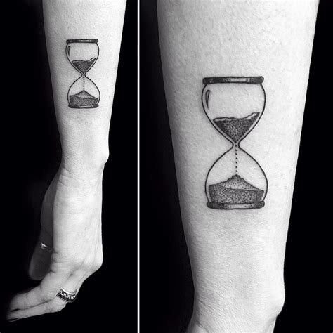 small hourglass tattoo small hourglass venice designs