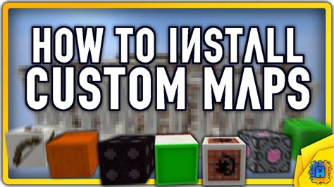 how to install custom maps in minecraft how to install custom minecraft maps in windows youtube
