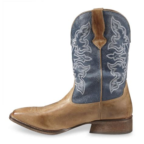 mens roper cowboy boots roper s rowdy cowboy boots 668745 cowboy western