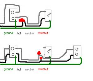 electrical how do i add a receptacle from a switch located on the end run of an existing split