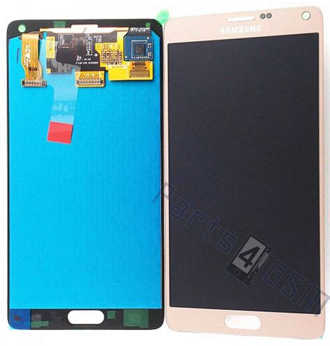 Lcd Wt13i samsung n910f galaxy note 4 lcd display module gold gh97
