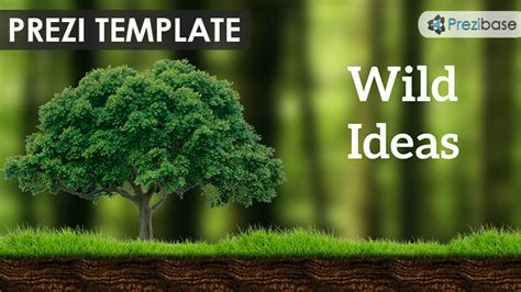 forest templates ideas prezi template prezibase