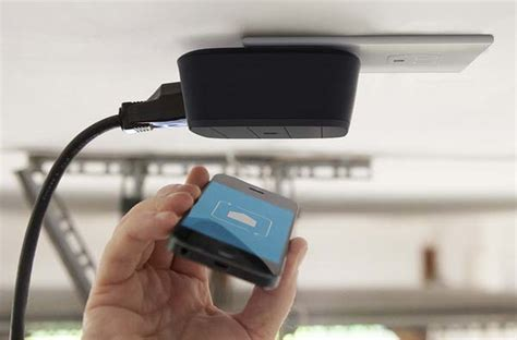 Smart Garage Door Opener Uppy Smart Garage Door Opener Gadgetsin