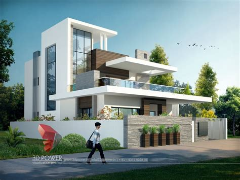 3d exterior home design bungalow home design raipur 3d power