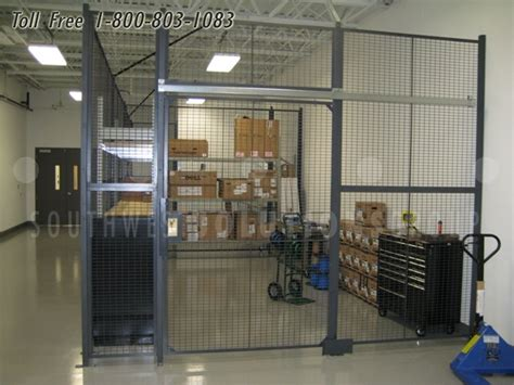 security cage panels maintenance tool cribs kansas city