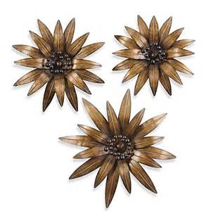 Uttermost Metal Wall Decor Buy Uttermost Gazania 3 Metal Wall D 233 Cor From Bed