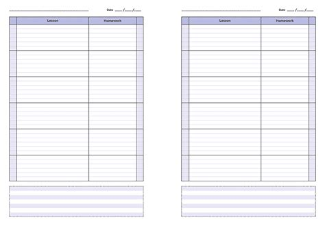 Galerry printable daily planner template 2018