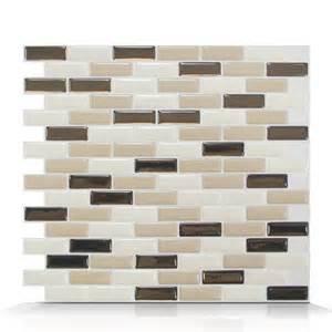 smart tiles sm1035 murano dune self adhesive wall tile lowe s canada