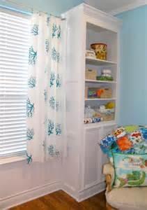 Nursery Decor Curtains Diy No Sew Curtains