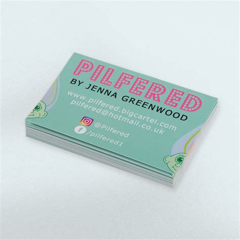 how to make laminated cards laminated business cards awesome merchandise