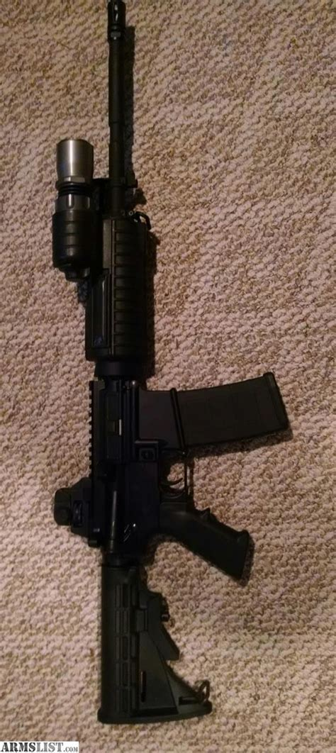 Armslist For Sale Bushmaster Ar 15 With Surefire
