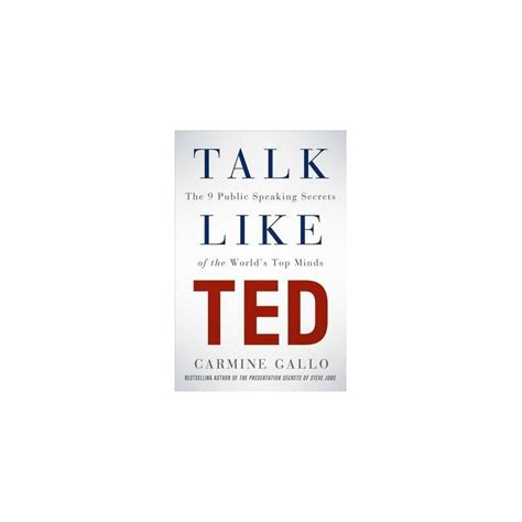 libro ted talks the official talk like ted english wooks