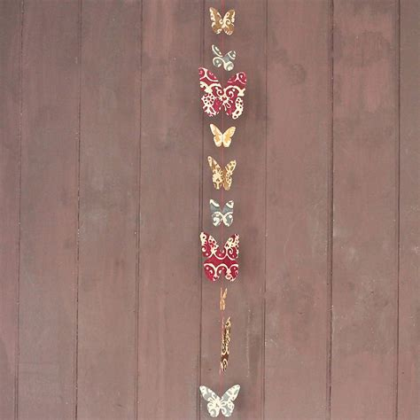 Handmade Paper Butterfly - handmade paper butterfly garland by discover attic