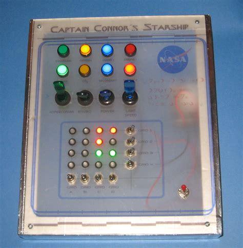 Hw Button Simple quot spaceship panel quot prop 6 steps