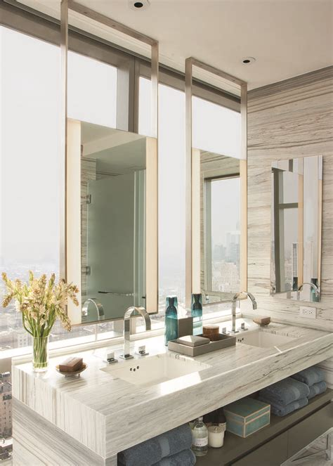 Modern Luxury Bathroom Mirrors The One Mirror Is An Honoree In The 2013 Interior