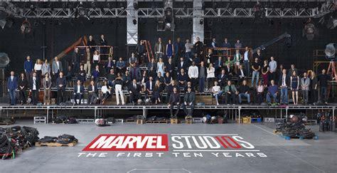 Wallpaper Vin 10 178 marvel 10 year anniversary class photo hd 4k