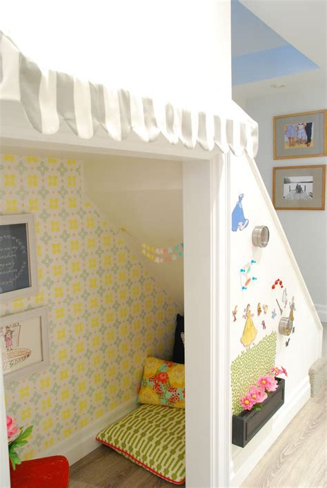 room to play book the stairs play nook diy