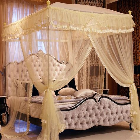 princess queen bed luxury canopy beds luxury royal 3 color princess triple