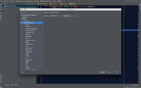 theme editor phpstorm phpstorm darcula theme shows white background stack