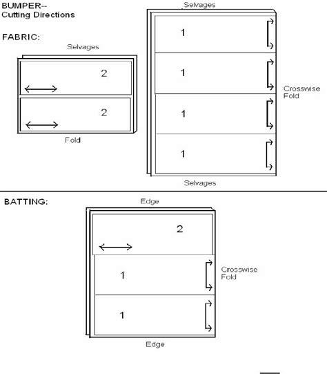 bumper pad pattern nursery