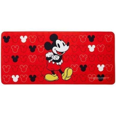 walmart mickey mouse bathroom mickey mouse red non slip rubber bathroom tub mat bath