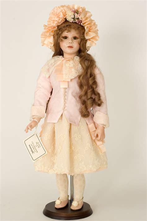 porcelain doll julie julieanna porcelain wax limited edition doll by