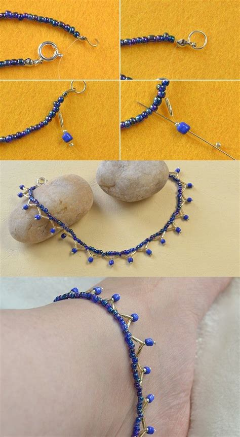 Bead Anklet 25 best ideas about beaded anklets on foot