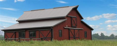 barn roofs metal roofing and siding for barns