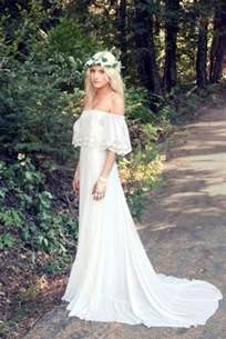 boho wedding dresses 45 beautiful boho chic wedding dresses happywedd
