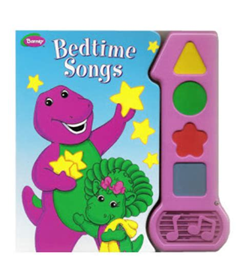 bed time song active smart baby play a sound book barney bedtime song