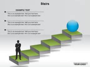 Stair Template by Hurry Stair Powerpoint Template With Niche
