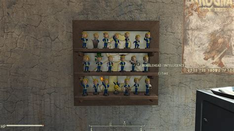 bobblehead shelves new craftable bobblehead displays shelves and animated