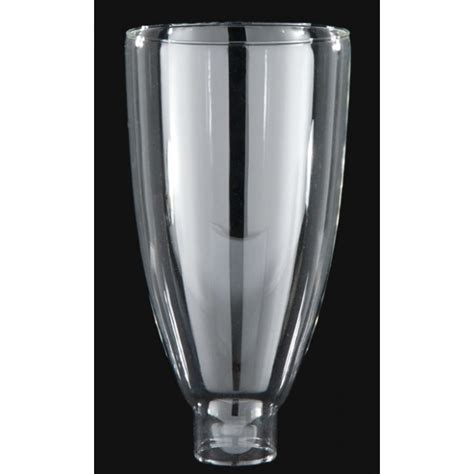 Hurricane Glass L Shades by 8 Quot X 1 5 8 Quot Clear Hurricane L Shade Lcg482 Hurricane