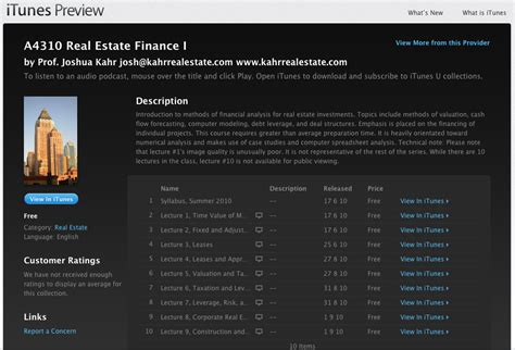 Real Estate Finance free real estate finance course