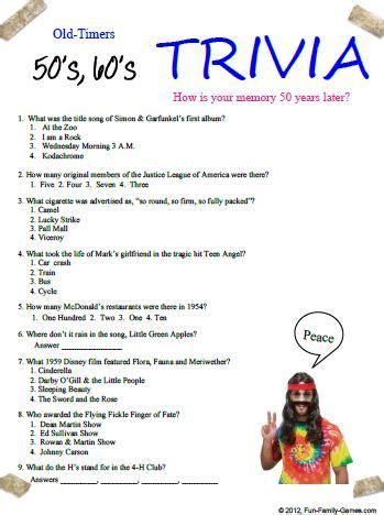 Printable Christmas Trivia For Seniors Html Autos Weblog | fun trivia questions for senior citizens html autos weblog