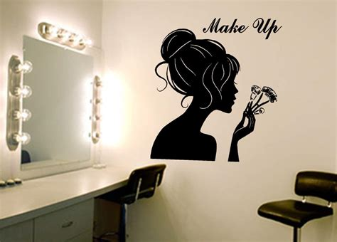 make wall stickers make up wall decal wall decal sticker