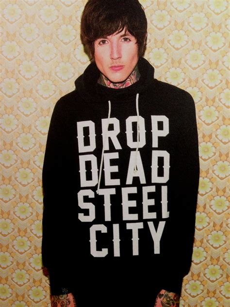 Vest Hoodie Bring Me The Horizon Bmth Jaket Rompi Yomerch bring me the horizonのoliverの着用drop deadのアイテムご紹介 ロック
