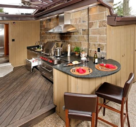 kitchen outdoor design 95 cool outdoor kitchen designs digsdigs