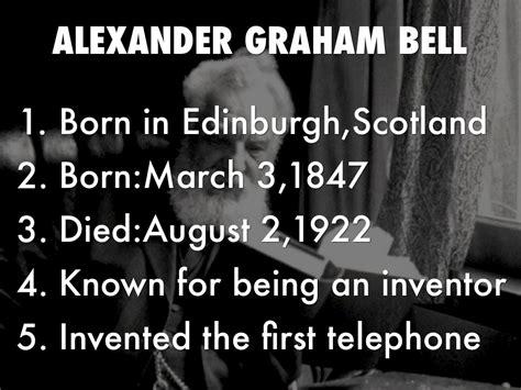 facts about alexander graham bell s death alexander graham bell by graceland314
