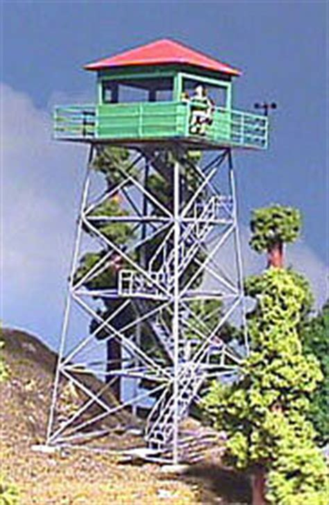 fire lookout tower kit  scale  yesteryear  scale