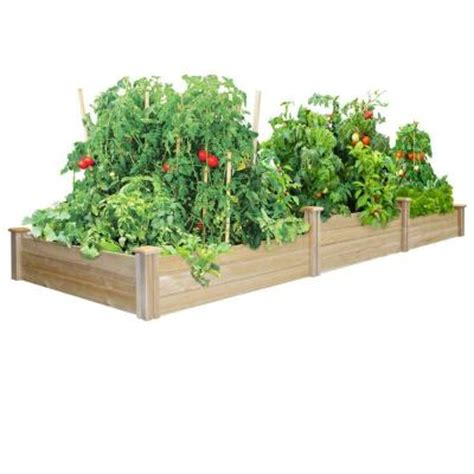 greenes fence raised beds greenes fence tall tiers dovetail raised garden bed