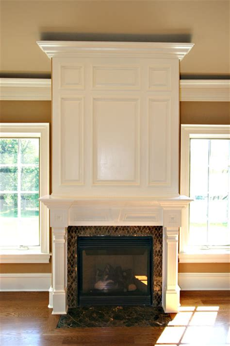 wood trim around fireplace custom fireplace mantles build ins
