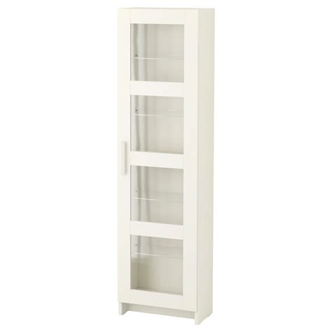 Glass Door Cabinet Ikea Brimnes Glass Door Cabinet White 39x142 Cm Ikea