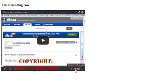 video tutorial in html how to embed youtube video in html and css tutorial it